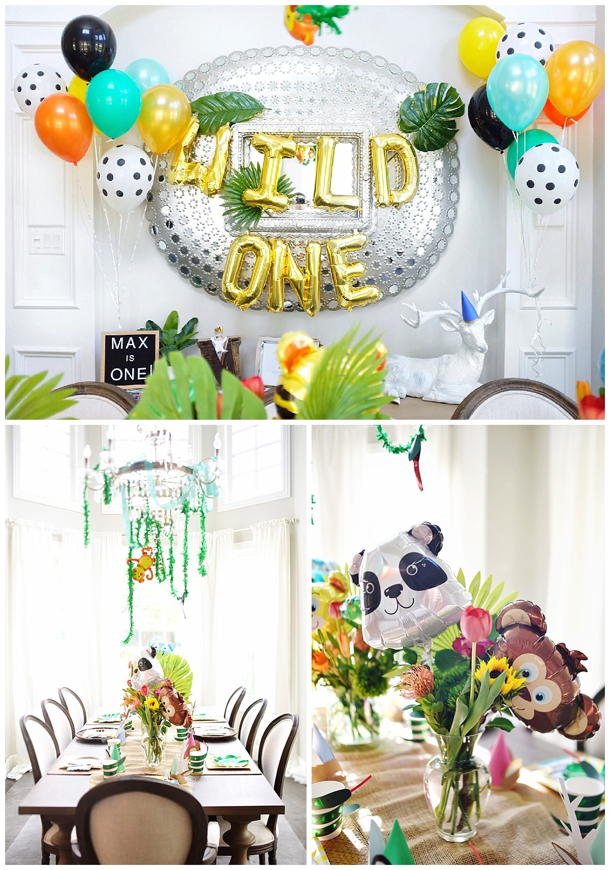 Wild One First Birthday And Tips For A Low Key 1st Birthday Party